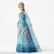 Statue Résine 18cm Disney Traditions - Elsa Fortress of Frost - Frozen Figure