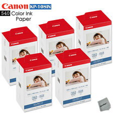 540 Color Ink Paper - 5 Pack Canon KP-108IN sheets for Canon Selphy CP1200