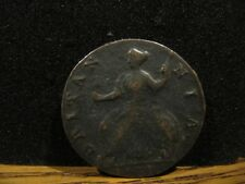 GREAT BRITAIN HALF PENNY 1737 READABLE DATE F. CONDITION