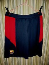 MENS FCB Barcelona brand Football Club Barça two-toned Soccer shorts. SIZE LARGE