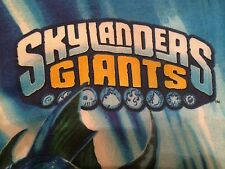 Skylanders Giants Spyro Wham Shell Eruptor Flameslinger Twin Pillowcase Reverse