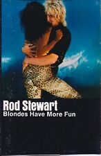 """Rod Stewart """"Blondes Have More Fun""""  Used Cassette 1978"""