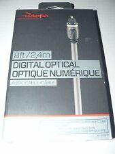 Rocketfish 2.4m (8 ft.) Digital Optical Audio Cable (RF-G1219-C)