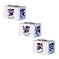 3 Rolls Ilford Delta 3200 Pro Black & White Print 35mm Film 36 Exposure