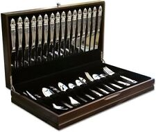 Wallace Silverware Chest Service for 16 - FREE SHIPPING