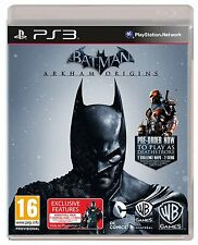 Ps3 gioco Batman Arkham Origins incl. Deathstroke & KNIGHTFALL DLC-Pack Merce Nuova