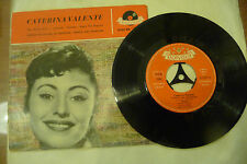 "CATERINA VALENTE""THE BREEZE AND I-disco 45 giri EP POLYDOR Ger 1961"""