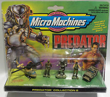 PREDATOR : MICROMACHINES SET  1 & 2MADE BY GALOOB IN 1996