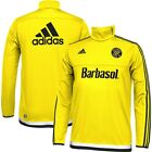 adidas Columbus Crew MLS 2014 - 2015 Soccer Training Top Yellow