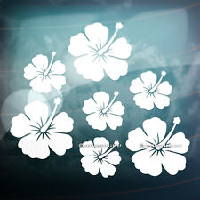 28x Beautiful Hibiscus Flowers for Bike,Car,Mirror,Wall,Laptop Vinyl Stickers