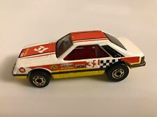 Rare 1983 Hot Wheels Hot Ones Turbo Mustang #3361 31 Tamp w/ RED Interior
