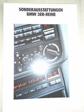 BMW 3 Series Accessories brochure 1991 German text