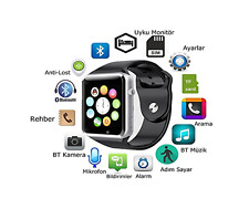Waterproof Bluetooth Smart  Watch SIM for Phone iPhone IOS Android Samsung HTC
