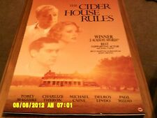 The Cider House Rules (michael caine, charlize theron, t maguire)Movie Poster A2