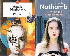 AMELIE NOTHOMB Stupeur et tremblements + Peplum  + PARIS POSTER GUIDE