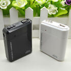 USB Emergency Portable 4 AA Battery Power Charger for Android Cell Phone iPhone