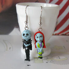 Jack and Sally Dangle Earrings - The Nightmare before Christmas