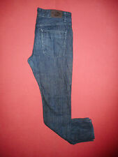 Designer Lee Cooper Button-Fly - Mens Navy Denim Jeans - Waist 34 Leg 34 - K554