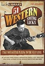 LICK LIBRARY Learn To Play 51 WESTERN SWING LICKS SCALES JAZZ BLUES COUNTRY DVD