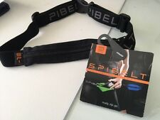SPIbelt Adult Race Belt, Original BLACK on BLACK, Small Personal Items, NEW