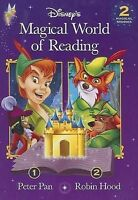 Peter Pan/Robin Hood (Disney's Magical World of Reading),ACCEPTABLE Book