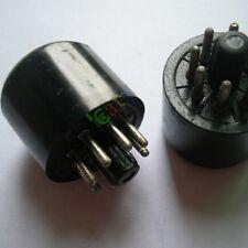 2PCS 8 PIN bakelite Vaccum TUBE SOCKET SAVER FOR 6L6 EL34 KT88 6550 audio amp