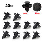 20pcs Car Plastic Rivet Fastener Mud Flaps Bumper Fender Push Clips For Nissan