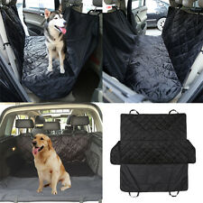 Pet Dog Seat Hammock Cover Car Suv Van Back Rear Seat Protector Mat Waterproof
