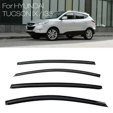 Smoke Window Sun Vent Visor Rain Deflector Guards For HYUNDAI 10-15 Tucson ix35