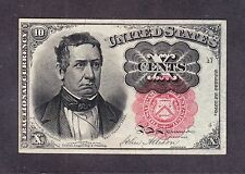 US 10c Fractional Currency 5th Issue Pos N4 FR 1265 Ch CU