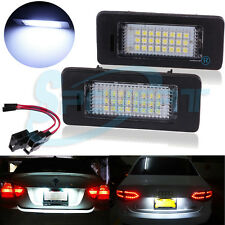 2x LED License Number Plate Light No Error for Audi A4 S4 B8 A5 S5 Q5 VW PASSAT