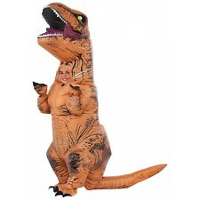 Inflatable Dinosaur Costume Kids T-Rex Jurassic World Halloween Fancy Dress
