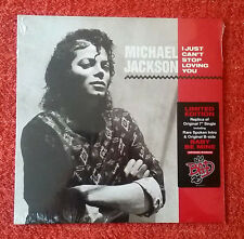 "MICHAEL JACKSON ""I Just Can't Stop Loving You"" 7"" US Vinyl 45 Sealed!!"