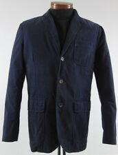 Men's POLO RALPH LAUREN Navy Blue Cotton Casual Jacket Blazer 44R 44 Regular NWT