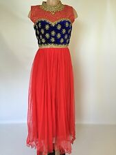 $50 Bridal Reception  wedding salwar kameez Indian suit Anarkali  Dress 36,38