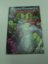 2002 TRANSFORMERS ARMADA BOOKLET INSERT PROMOTIONAL PROMO 3