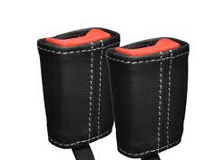 Gris stitch fits Lotus Elise Exige S2 01-12 2x ceinture en cuir tige couvre