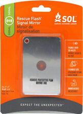 SOL Rescue Flash Signal Mirror Camping Hiking Survival Emergency AMK 0140-1003