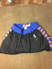Authentic Nike Rewind New York Knicks Pro Cut On Court NBA Shorts Men's XL 1952