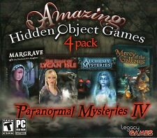 Paranormal Mysteries IV PC Games Windows 10 8 7 Vista XP Computer hidden object