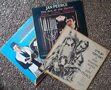 3 jewish cantorial yiddish LP lot-jan peerce-shabbath/high holidays/rosh hashana