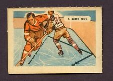 1946 KELLOGG'S ALL- WHEAT HOCKEY CARD SPORT - TIPS # 5 BOARD TRICK