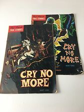 Oral Roberts Cry No More Part 1&2 Comic Book.