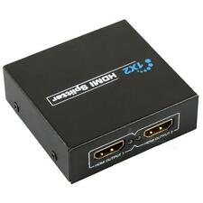 HDMI 1.3 1x2 1 to 2 1080P 3D Splitter Amplifier 1 in 2 out For Dual DispLay BDRG