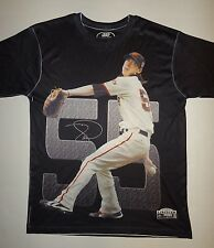Tim Lincecum 55 San Francisco Giants World Series Shirt Three60 Gear Mens M/L