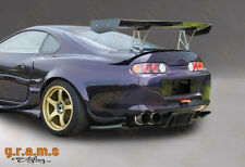 Toyota Supra Carbon Fiber Top Secret / Shine Style Diffuser / Undertray