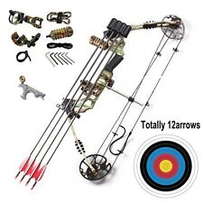 20-70LBS Right Handed Magnesium Alloy Compound Bow Archery Set