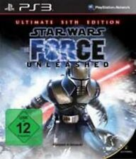 Playstation 3 STAR WARS THE FORCE UNLEASHED ULTIMATE SITH EDITION Neuwertig