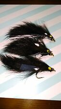 Toms Black Leech Trout Buzzers Trout Lures Fly Fishing Trout Flies