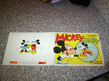 ALBUM figurine MICKEY STORY PANINI COMPLETO OTTIMO NO CALCIATORI LAMPO-FLASH